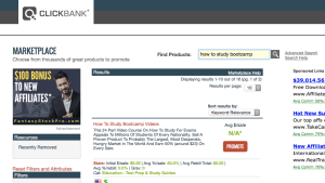 ClickBank Search